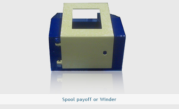 Spool payoff or winder
